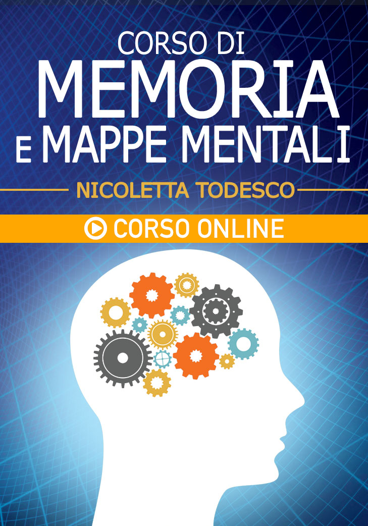 Corso di Memoria e Mappe mentali - Corso Online