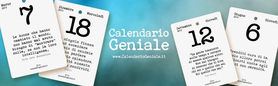 testata calendario geniale