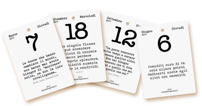 Calendario Filosofico 2020 Dove Si Compra.Calendario Geniale