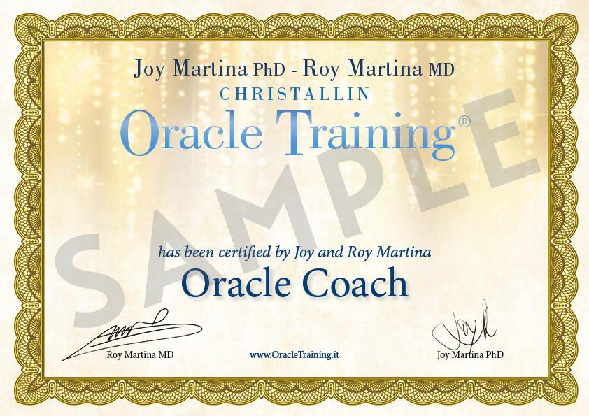Certificato PDF - Coach