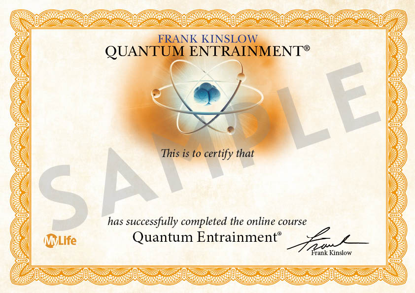 Certificato PDF - La Guarigione Quantica