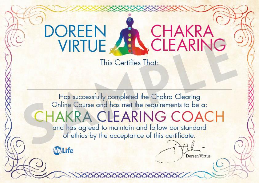 Certificato PDF - Chakra Clearing