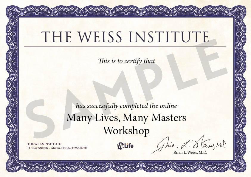 Certificato PDF - MVMM Corso Base